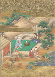 The Tale of the Bamboo Cutter - Discovery of Princess Kaguya