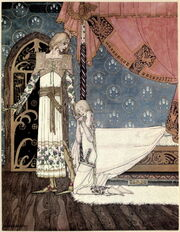 Kay Nielsen - East of the sun and west of the moon - tell me the way then she said