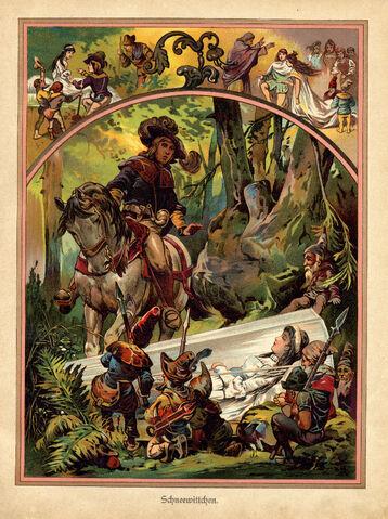 File:Snow White illustration from german children's book 1919 (3917968514).jpg