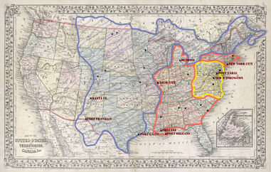 Legion Chart Map