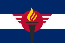 Novus Republic Flag