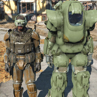 Inner and Outer suit comparison