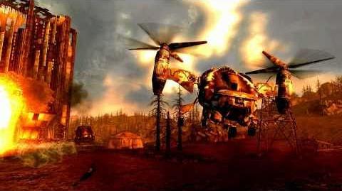 Fallout 3 - Vertibird Assault III
