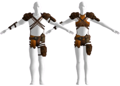 White Legs hide armor
