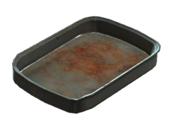 Aluminum tray