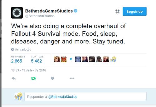 Bethesda tweet hunger