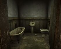 Mitchell house restroom