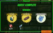 FoS Homerun! rewards