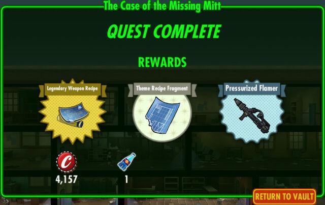 File:FoS The Case of the Missing Mitt rewards.jpg