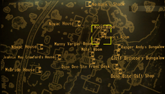 Boone's room map