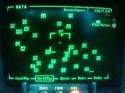 Map Glitched Pip-Boy 3000