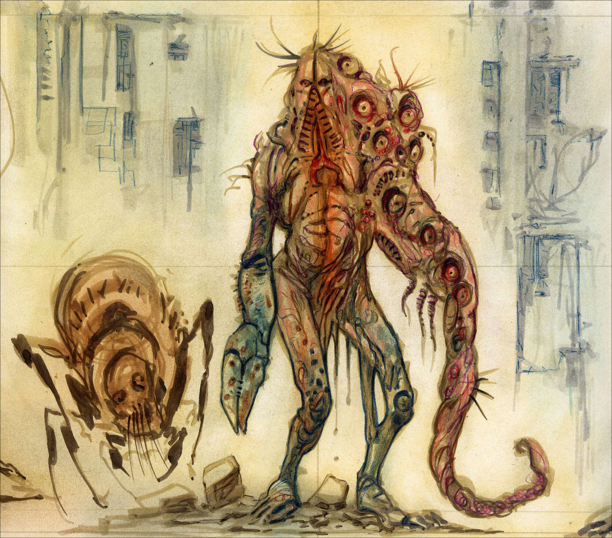 Image F03 Abomination Concept Art 02 Jpg Fallout Wiki