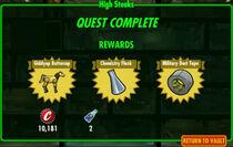 FoS High Steaks rewards