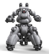 Sentry Bot Render Front View