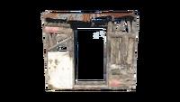 FO4 Shack Wall Doorway
