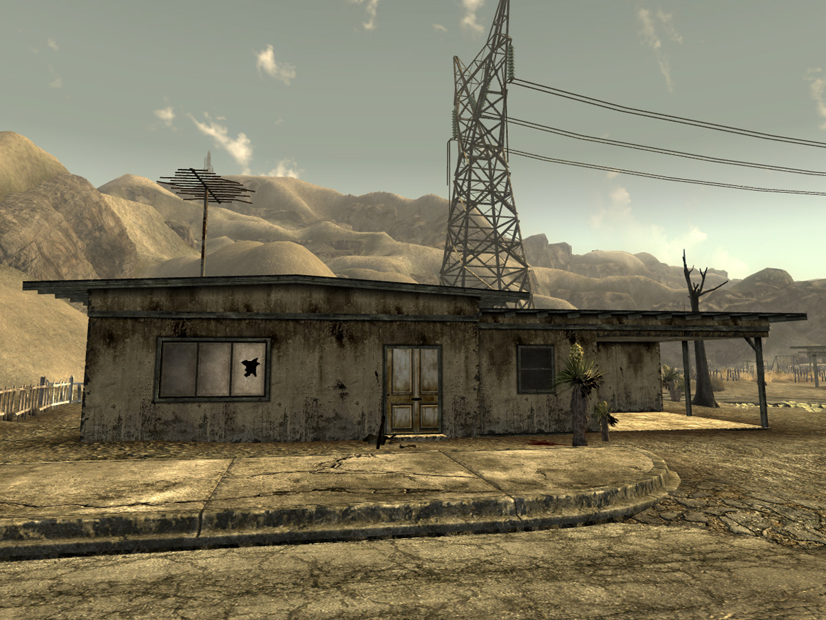 Abandoned home fallout new vegas fallout wiki for Classic house radio station