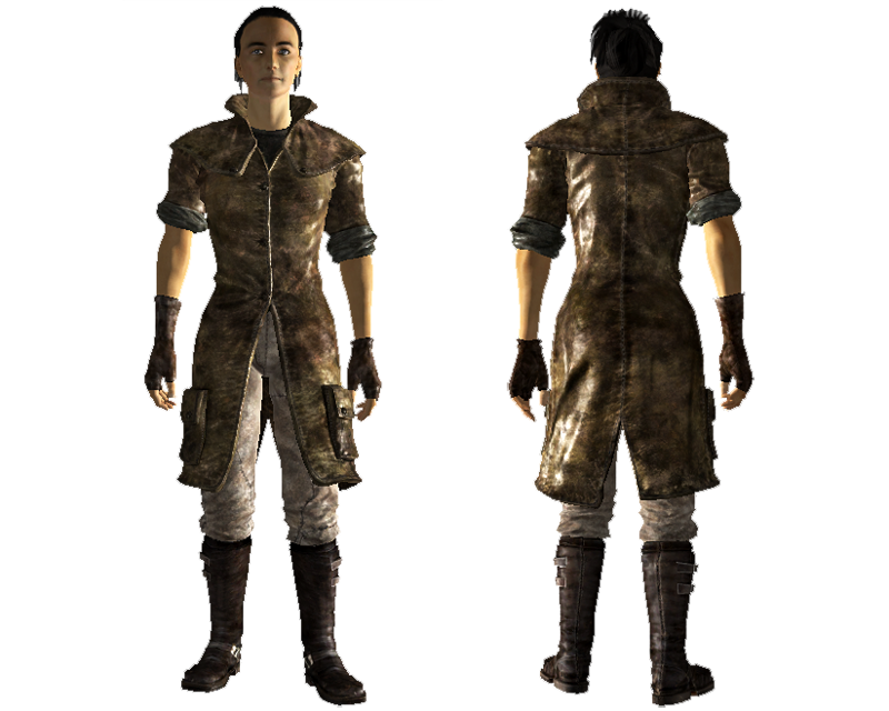Fallout new vegas courier duster blackjack