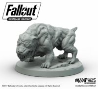 Fallout Wasteland Warfare mutant hound2