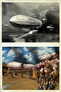 New art 10 zeppelin