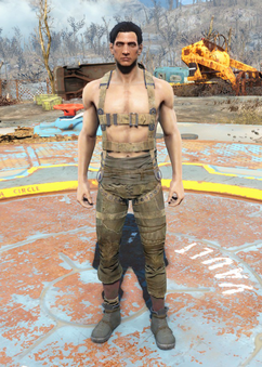 Fo4 Harness armor