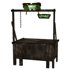 Fo4 trading stand