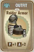FoS Raider Armor Card