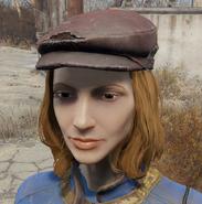 Press cap worn