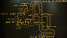 Vault 22 food production map.png