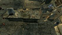 FO3 PI Flooded Metro Raider Camp