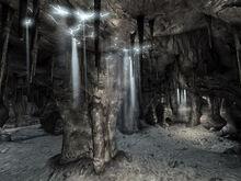 CG cave interior