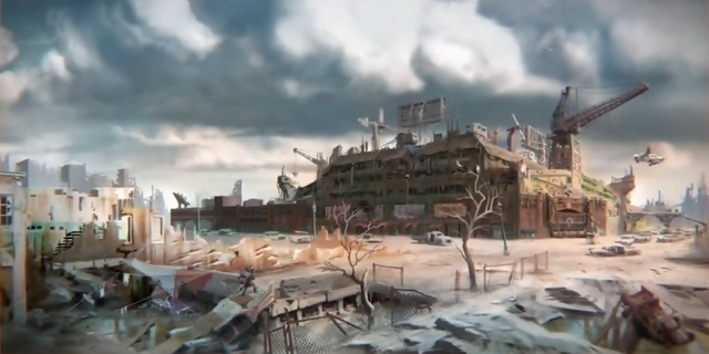 File:FO4 E3 Diamond city Concept.png