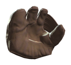 Fo4 undamaged baseball glove