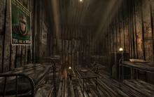 Camp FH shack interior