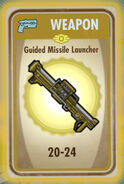 FoS Guided Missile Launcher Card