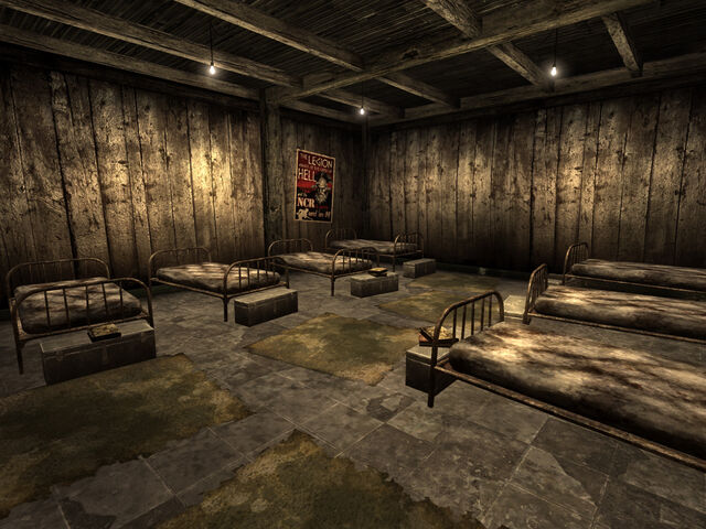 File:NCR Ranger safehouse beds.jpg