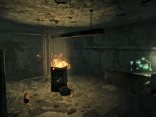 Ghoul outpost interior