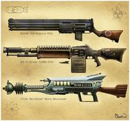 PV13 rifles concept art Cleveland