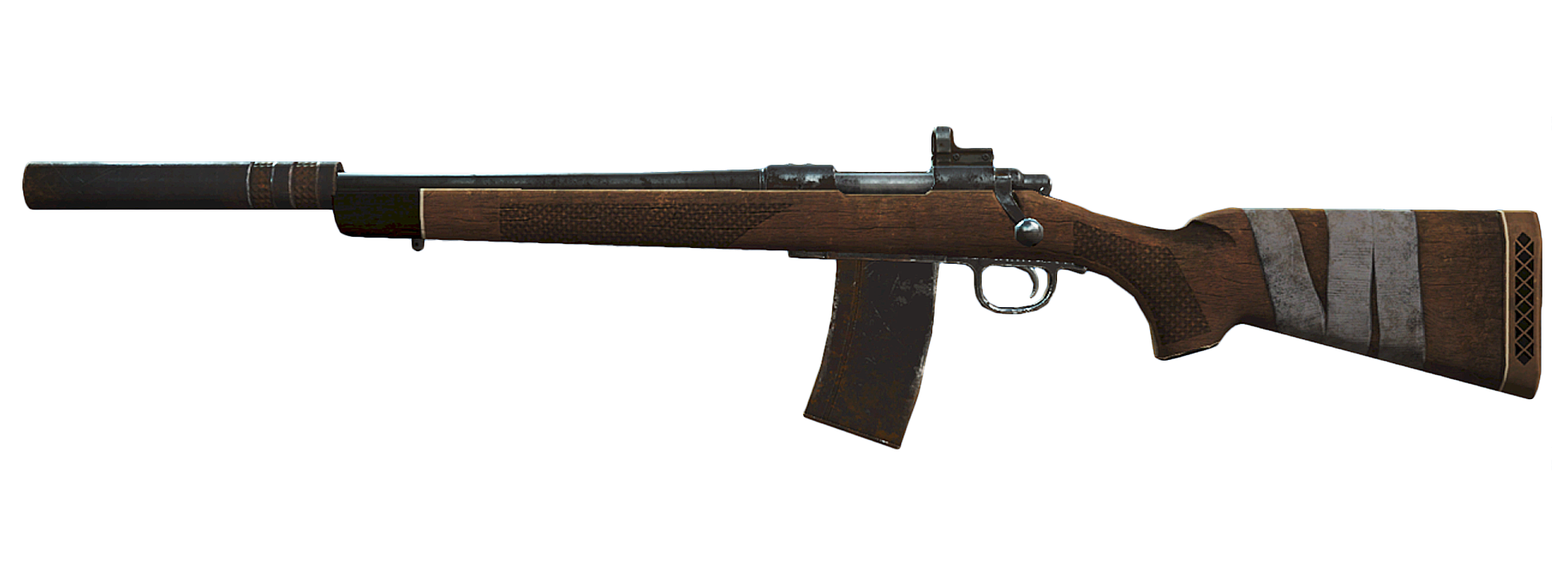 Image - FO4 Suppressed hunting rifle.png | Fallout Wiki | FANDOM powered by Wikia