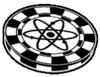 Icon pokerchip atomic