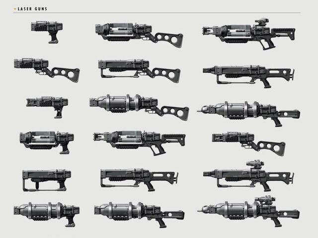 File:Art of Fallout 4 laser gun.jpg