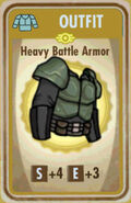 FoS Heavy Battle Armor Card