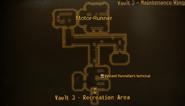Vault 3 maintenance wing map