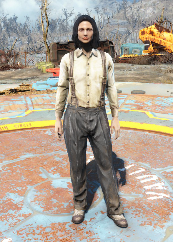 Suspenders and slacks | Fallout Wiki | FANDOM powered by Wikia