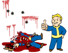Fo4 Bloody Mess