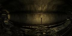 Nellis tunnel interior
