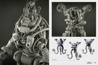 Art of Fo4 robots concept art
