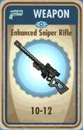FoS Enhanced Sniper Rifle Card