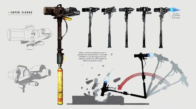 File:Art of Fallout 4 super sledge.jpg