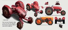 FO4 Tractor art