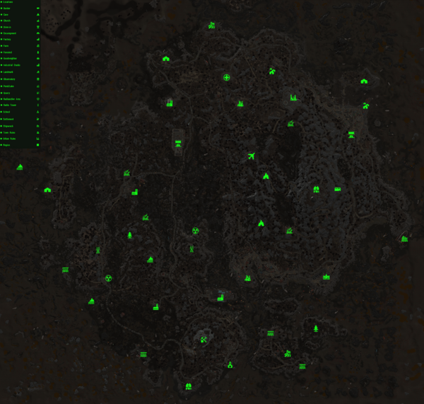 Fo4FH TheIsland map